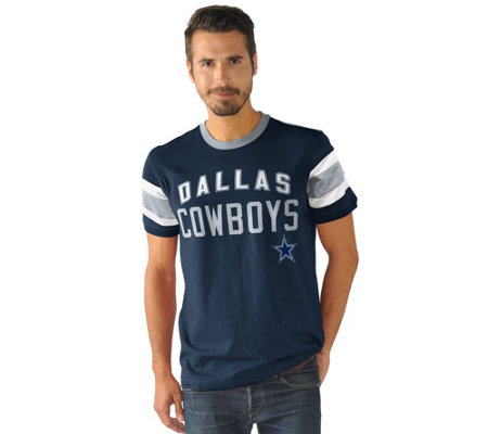 NFL Dallas Men's Triple Play Short Sleeve Top
