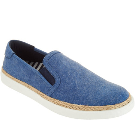 Vionic Canvas Slip-on Shoes - Rae