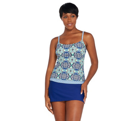 Ocean Dream Signature Medallion Tankini Swimsuit
