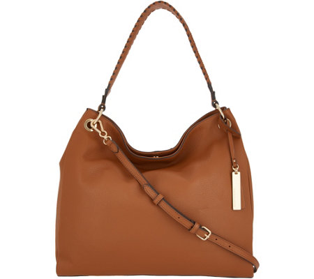Vince Camuto Leather Hobo Handbag - Nadja