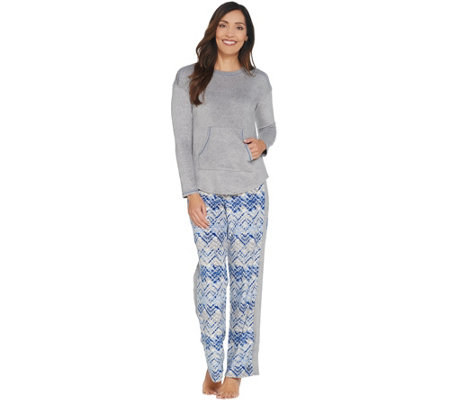"soft pajama bottoms  size  L  w.26/"" NWT Good Night Kiss misses/' PENQUINS  warm"