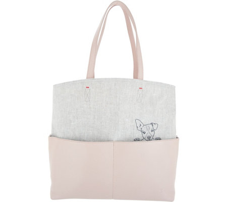 """As Is"" ED Ellen DeGeneres Henlee Tote Bag"