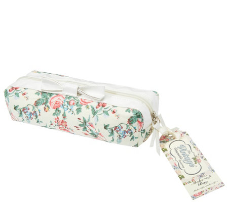The Vintage Cosmetic Company Small Makeup Bag -Floral
