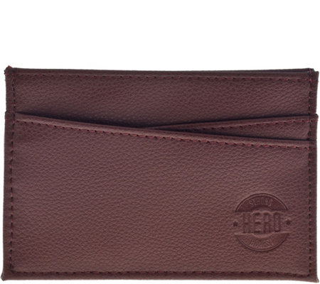 Hero Goods Adam Wallet, Brown