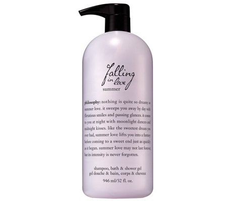 philosophy summer shampoo, bath & shower gel, 32 fl oz