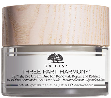 Origins Three Part Harmony Day Night Eye Cream Duo