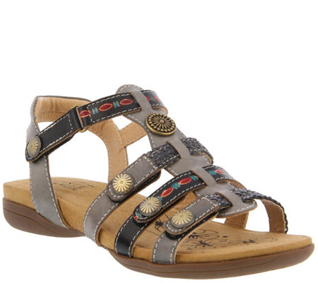 L'Artiste by Spring Step Leather Sandals - Jerlene