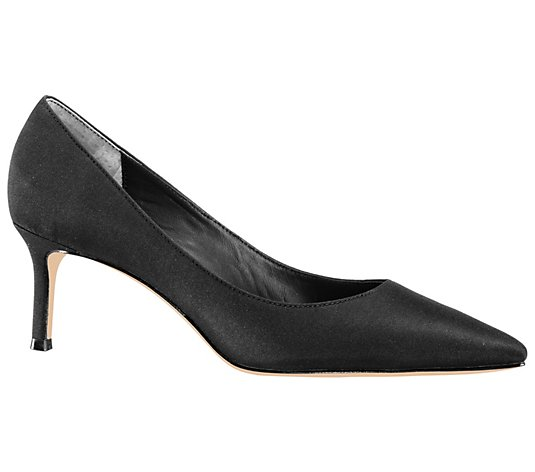 Nina Footwear Mid-Heel Pointed-Toe Pumps - Nina60