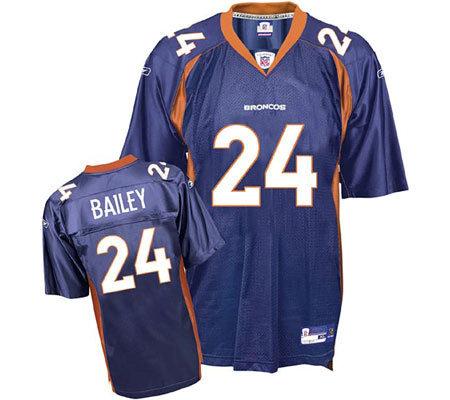 NFL Denver Broncos Champ Bailey Replica Team Coor Jersey — QVC.com 0fff3b070