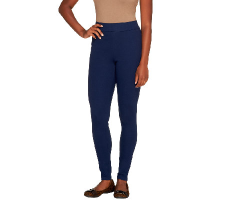 Liz Claiborne New York Petite Essentials Knit Leggings