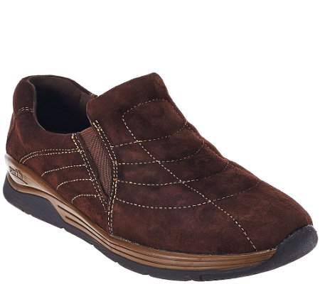 Earth Suede Water Resistant Slip-on Shoes - Journey