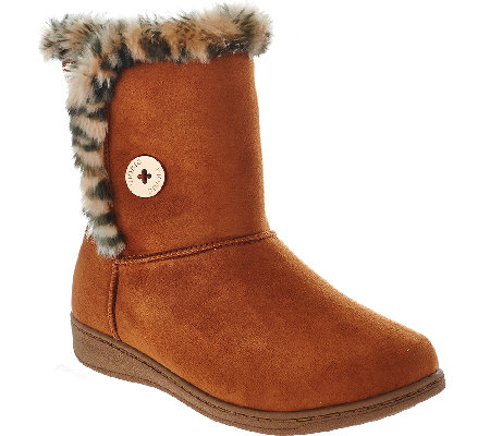 Vionic Slipper Boots - Fairfax
