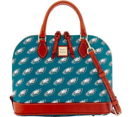 Dooney & Bourke NFL Eagles Zip Zip Satchel