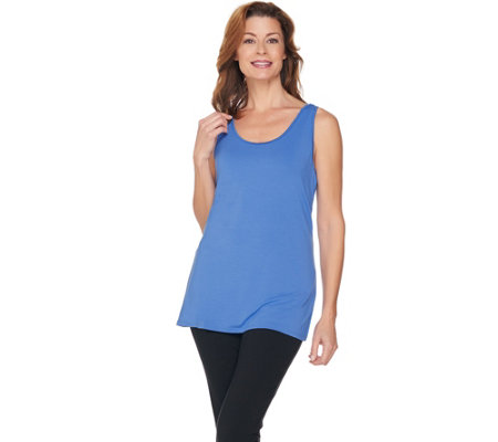 H by Halston Essentials Scoop Neck Knit Tank