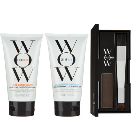 Color WOW Root Cover Up with Travel Shampoo & Conditioner