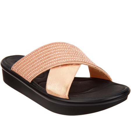 Skechers Cross-Band Platform Sandal - Summer Scorcher