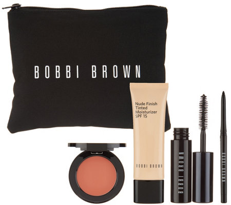 Bobbi Brown Nude Definition 4-piece Kit with Bag