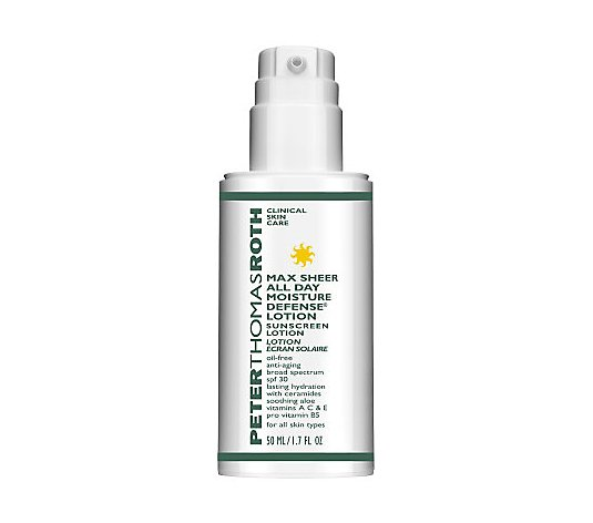 Peter Thomas Roth Max Sheer All Day Moisture Defense SPF