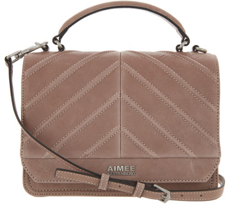Aimee Kestenberg Leather Expandable Crossbody Mia