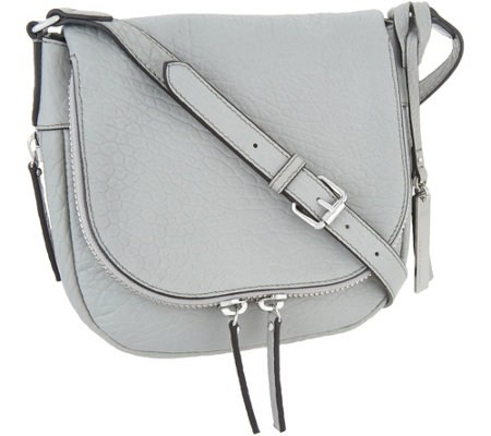 """As Is"" Vince Camuto Leather Crossbody Handbag- Bailey"