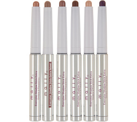 Mally Evercolor Shadow Stick Extra 6-Piece Collection