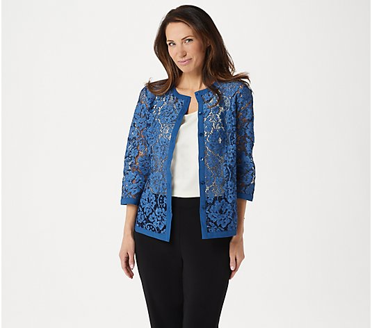 Linea by Louis Dell'Olio Lace Jacket