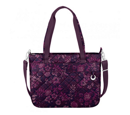 Travelon Boho Quilted Cotton Tote