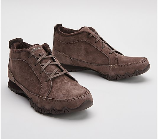 Skechers Lace-Up Booties - Bikers Lineage