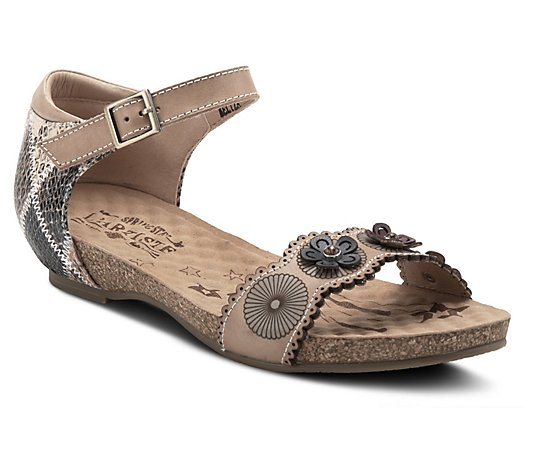 L'Artiste By Spring Step Leather Sandals - Meliza
