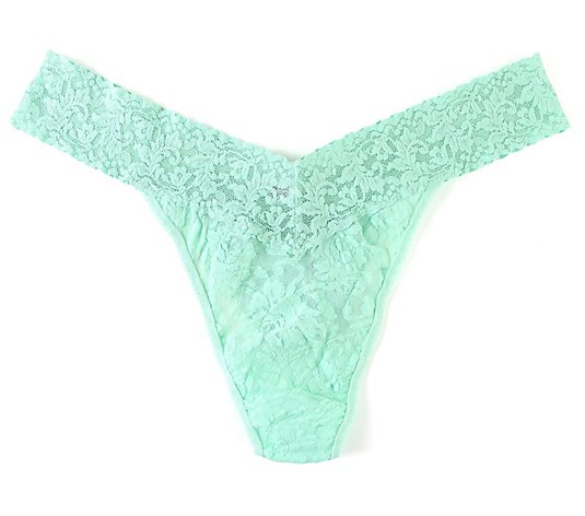 Hanky Panky Original Rise Signature Lace Plus-Size Thong