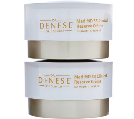 Dr. Denese Med MD 33 Clinical Reserve Night Creme Set