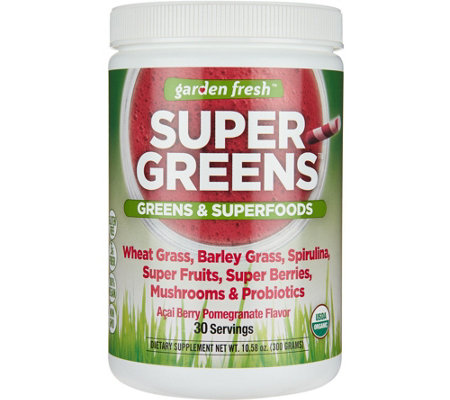 Garden Fresh Powdered Super Greens 30-day Supply