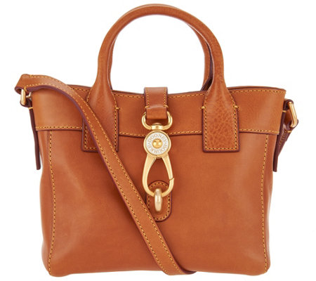 """As Is"" Dooney & Bourke Florentine Leather Small Tote - Amelia"