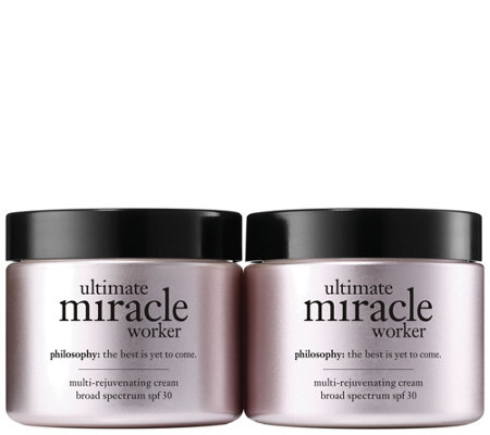 philosophy ultimate miracle worker spf 30 moisturizer duo