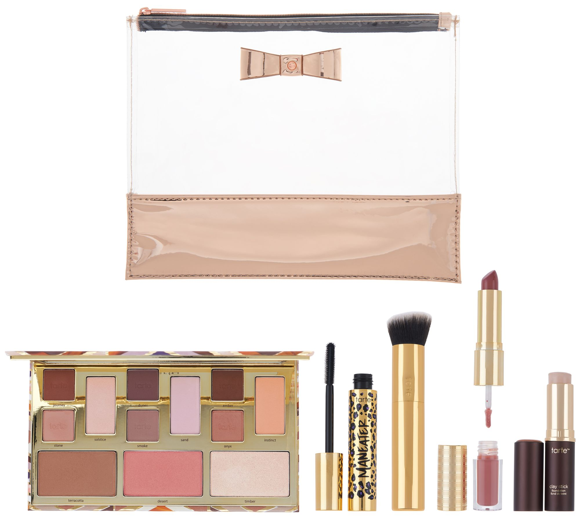 Tarte Tartelette 5 Piece Makeup Bag