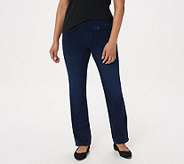 Belle by Kim Gravel Petite Flexibelle Boot-Cut Jeans - A311352