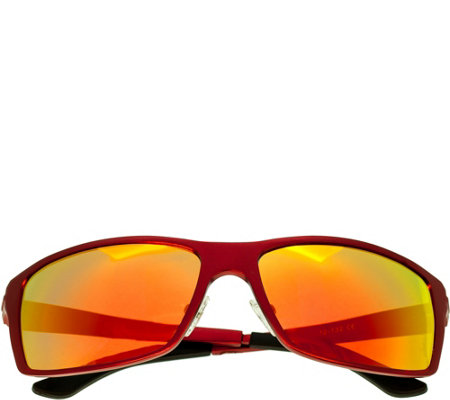 Breed Kaskade Polarized Sunglasses Red