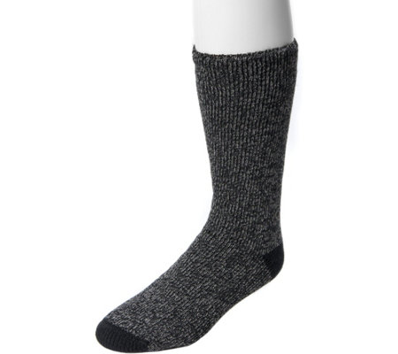 Muk Luks Men S One Pair Heat Retainer Socks