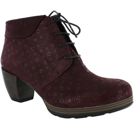 Wolky Leather Booties - Jacquerie