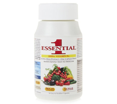 Andrew Lessman Essential-1 with Vitamin D3 2000 30 Capsules
