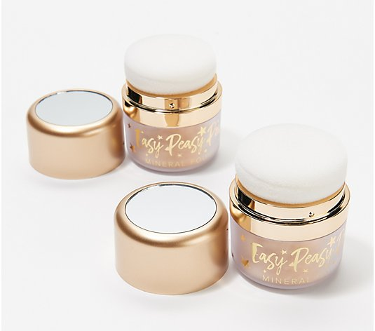 Belle Beauty by Kim Gravel Easy Peasy Powder Foundation Duo