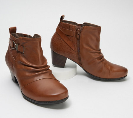 Earth Leather Ankle Boot - Calgary Halifax