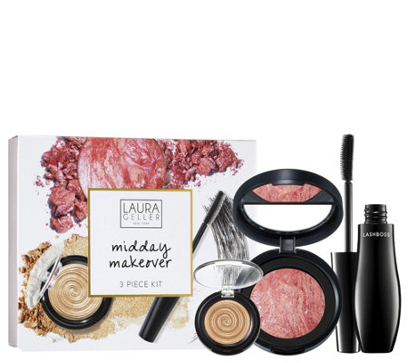 Laura Geller Midday Makeover 3-Piece Kit