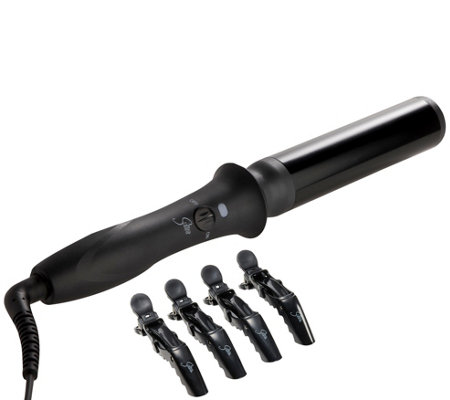 "Sultra Bombshell 1-1/2"" Rod Curling Iron & 4 Sectioning Clips"