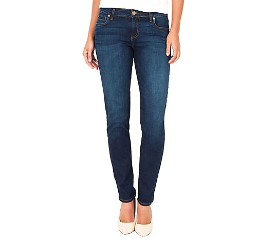 KUT from the Kloth Mid-Rise Diana Skinny Jeans - Systematic