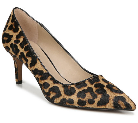 Franco Sarto Pointed Toe Kitten Heel Pumps -Tudor 2