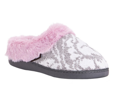 MUK LUKS Women's Slip-On Clog Slippers - Trina