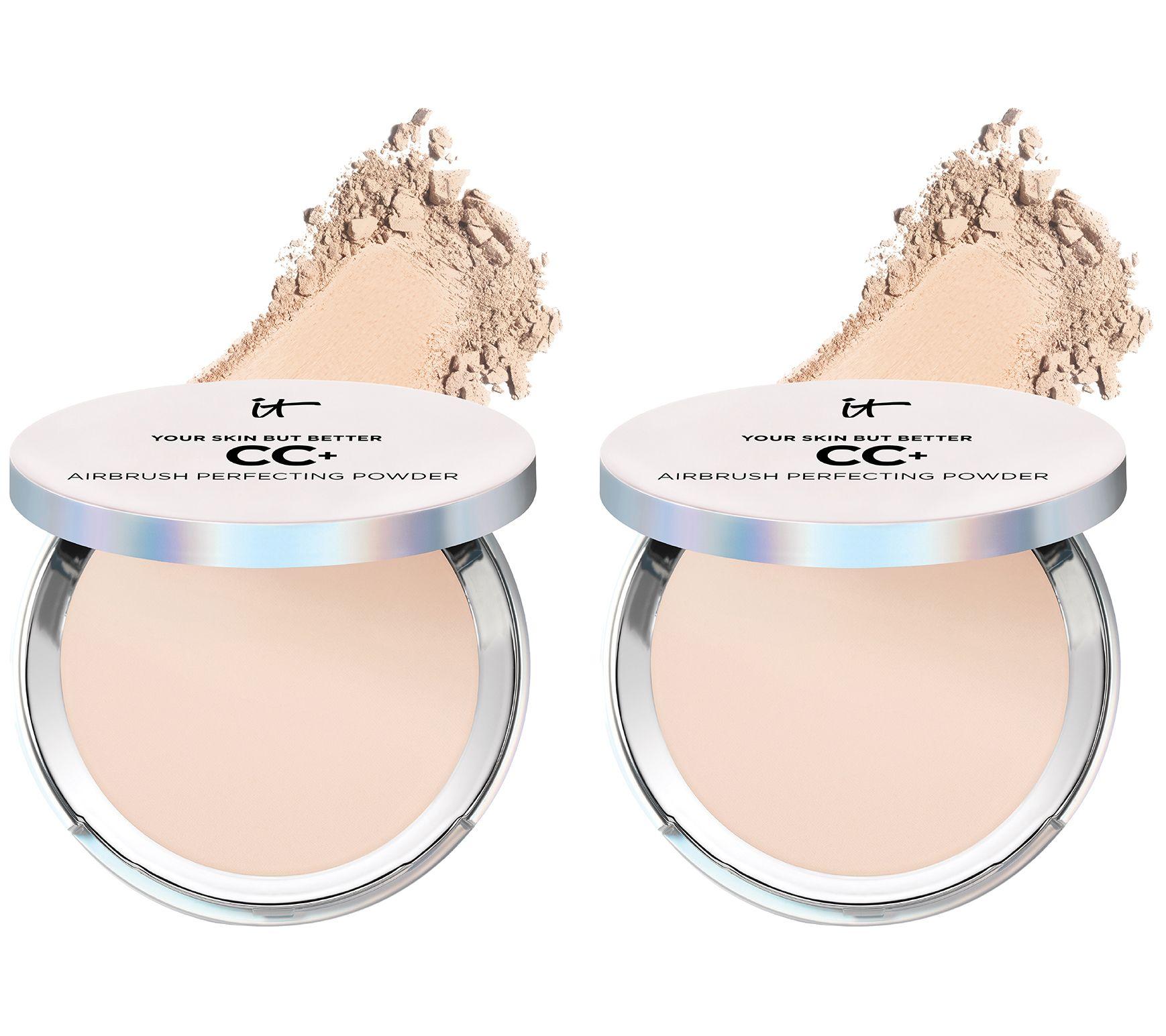 It Cosmetics Cc Powder Foundation Duo Auto Delivery Qvc Com