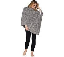 Barefoot Dreams Cozychic Point Dume Poncho - A293853