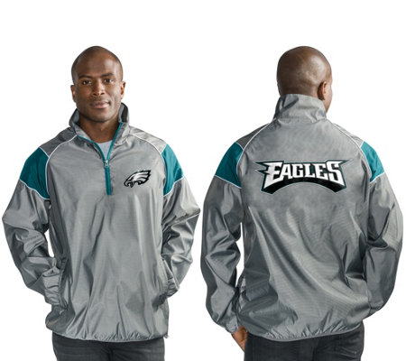 Nfl Quarter Zip Lightweight Pullover Jacket